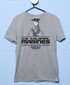 Sale Item - Us Colonial Marines Eagle Logo T Shirt Sport Grey / 2XL
