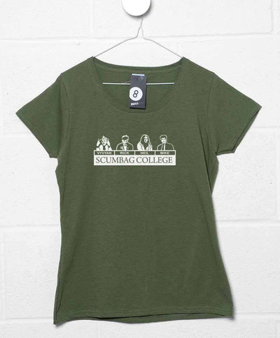 Young Ones Womens T Shirt - Scumbag College