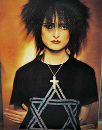 As Worn By Siouxsie Sioux Guys T Shirt - Star Of David
