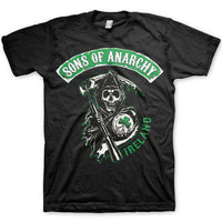 Sons Of Anarchy Men's T Shirt - Ireland Crew