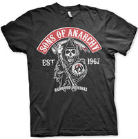 Sons Of Anarchy Mens T Shirt - Redwood Original Patch