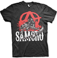 Sons Of Anarchy Mens T Shirt - SAMCRO Anarchy Reaper
