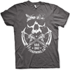 Sons Of Anarchy Mens T Shirt - Skull And Rifles
