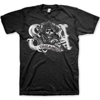 Sons Of Anarchy Men's T Shirt - SA Logo