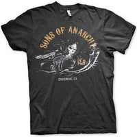 Sons Of Anarchy T Shirt - Charming, Ca