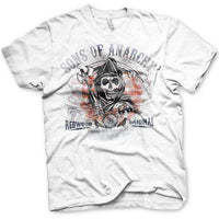 Sons Of Anarchy United Flag T Shirt