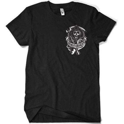 Sons Of Anarchy T Shirt - Kutte Patch