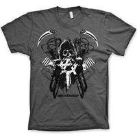 Sons Of Anarchy Harley Engine Reaper T Shirt