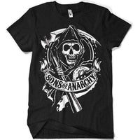 Sons Of Anarchy Scroll Reaper T Shirt