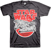 Star Wars Mens T Shirt - Millennium Falcon Yeee Haw