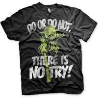 Star Wars Men's T Shirt - No Try Yoda