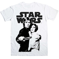 Star Wars - Luke And Leia T Shirt