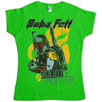 Star Wars Womens - Distressed Boba Fett T Shirt