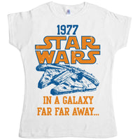 Star Wars Women's T Shirt - Far Away Falcon