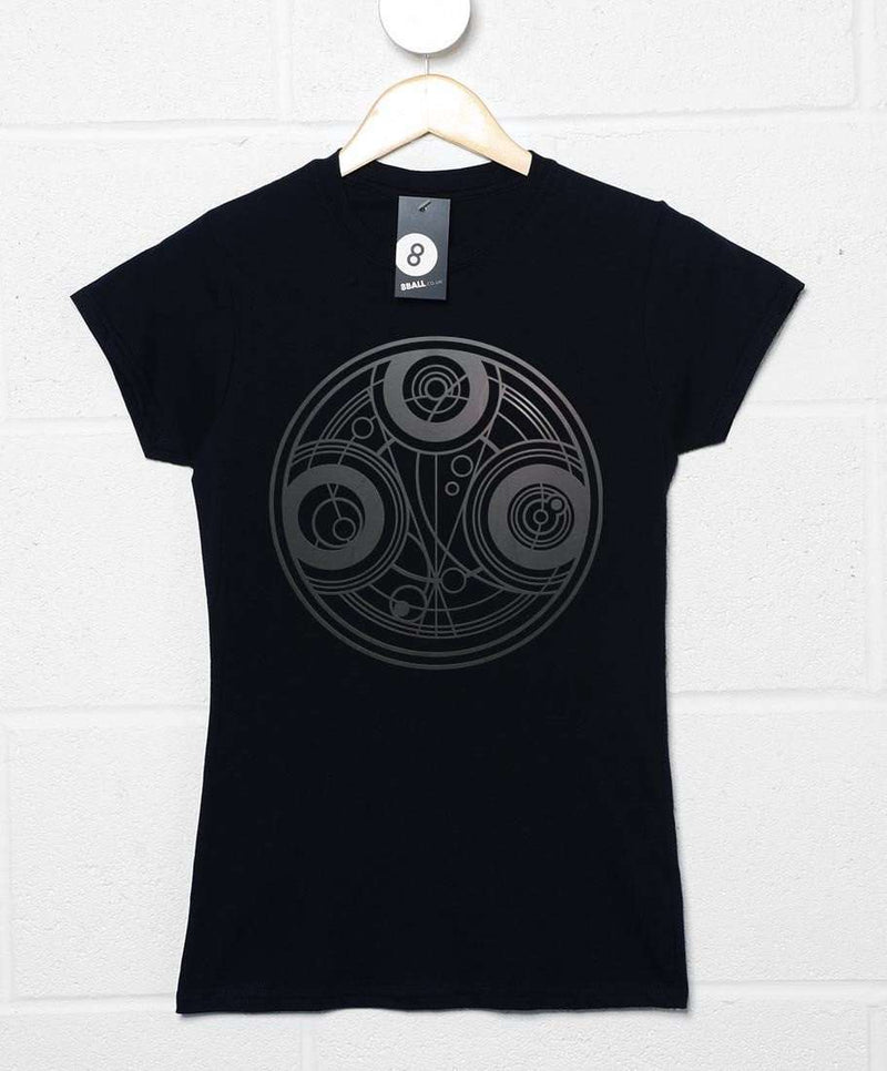 Inspired By Doctor Who Womens T Shirt Timelord Symbol 8ball T Shirts