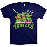 TMNT Classic Crew Mens T Shirt - Teenage Mutant Ninja Turtles