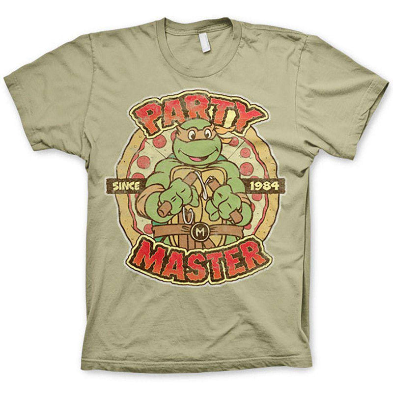 b106c557a44 TMNT Michelangelo Party Master Mens T Shirt - Teenage Mutant Ninja Turtles