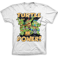 TMNT Turtle Power Mens T Shirt - Teenage Mutant Ninja Turtles