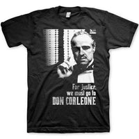 The Godfather T Shirt - Corleone Justice