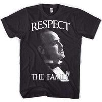 The Godfather T Shirt - Respect The Family