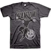 The Phantom Mens T Shirt - Distressed Phantom Jump