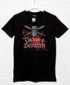 Crossed Swords Black Knight Scratch T Shirt