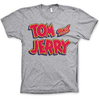 Tom And Jerry T Shirt - Show Logo