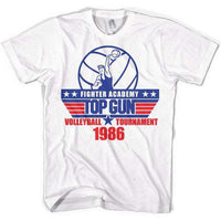 Top Gun Academy Volley Ball Tournament T Shirt