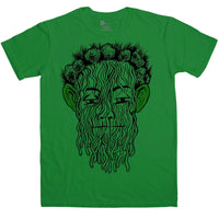 Yellow King Carcosa T Shirt - Green Eared Spaghetti Monster