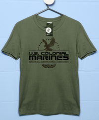 US Colonial Marines Eagle Logo T Shirt