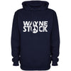 Sale Item -  Waynestock Hoodie - Medium - Navy