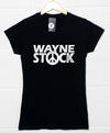 Womens Inpired By Waynes World T Shirt - Waynestock