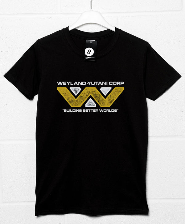 3e8a832cc Weyland Yutani Corporation Building Better Worlds T Shirt