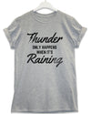 When It's Raining - Lyric Quote T Shirt