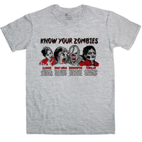 Know Your Zombies Men's T Shirt
