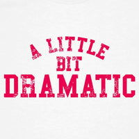 A Little Bit Dramatic Kids T Shirt - 8Ball