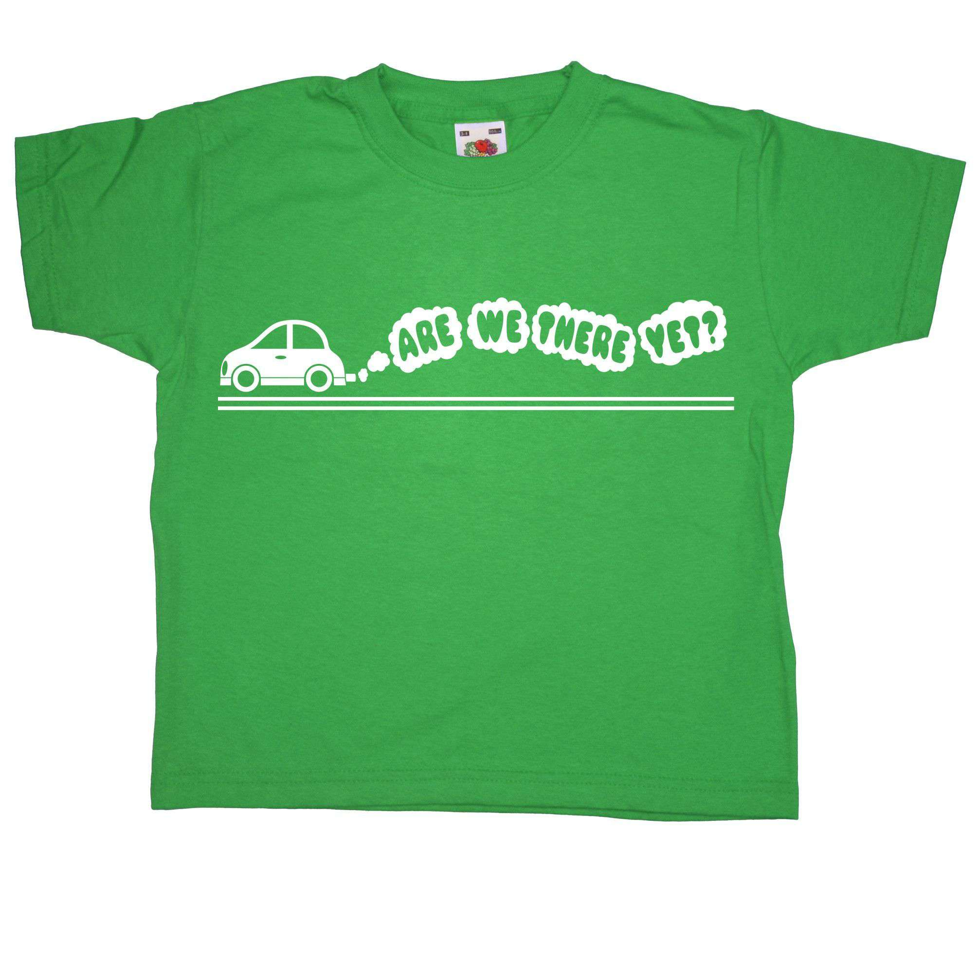 Kids T Shirt - Are We There Yet