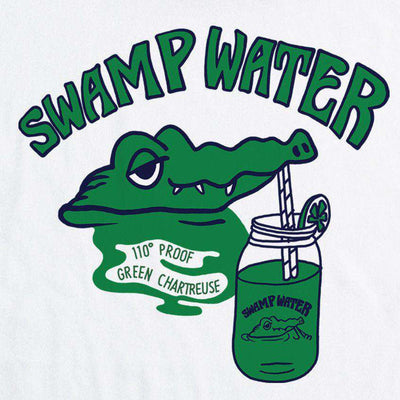 As Worn By Joey Ramone T Shirt - Swamp Water - 8Ball