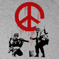 Banksy T Shirt - CND Soldiers - 8Ball