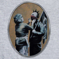 Banksy T Shirt - Anarchist - 8Ball