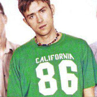 As Worn By Damon Albarn - California 86 T Shirt - 8Ball