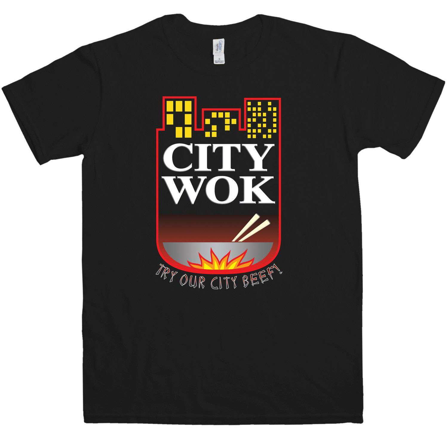 Inspired By South Park T Shirt - City Wok