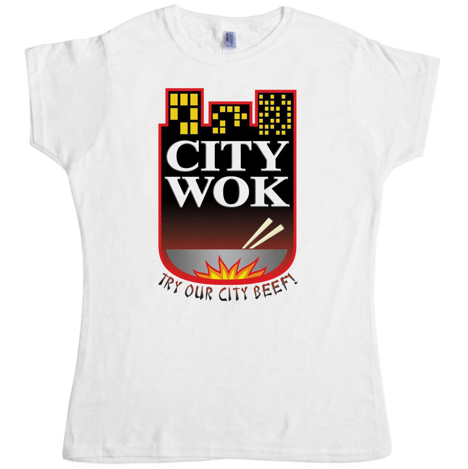 Inspired By South Park T Shirt - City Wok Womens