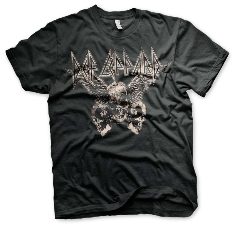 Def Leppard Flying Skulls T-shirt - S to 2XL