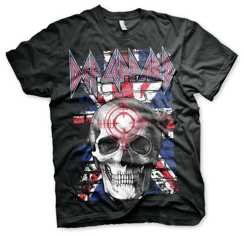 Def Leppard Union Jack Flag T-shirt