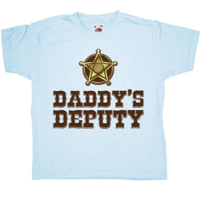 Dad And Kid Combo T Shirt - Daddys Deputy