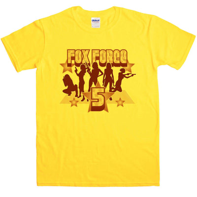 Inspired By Pulp Fiction - Fox Force Five T Shirt