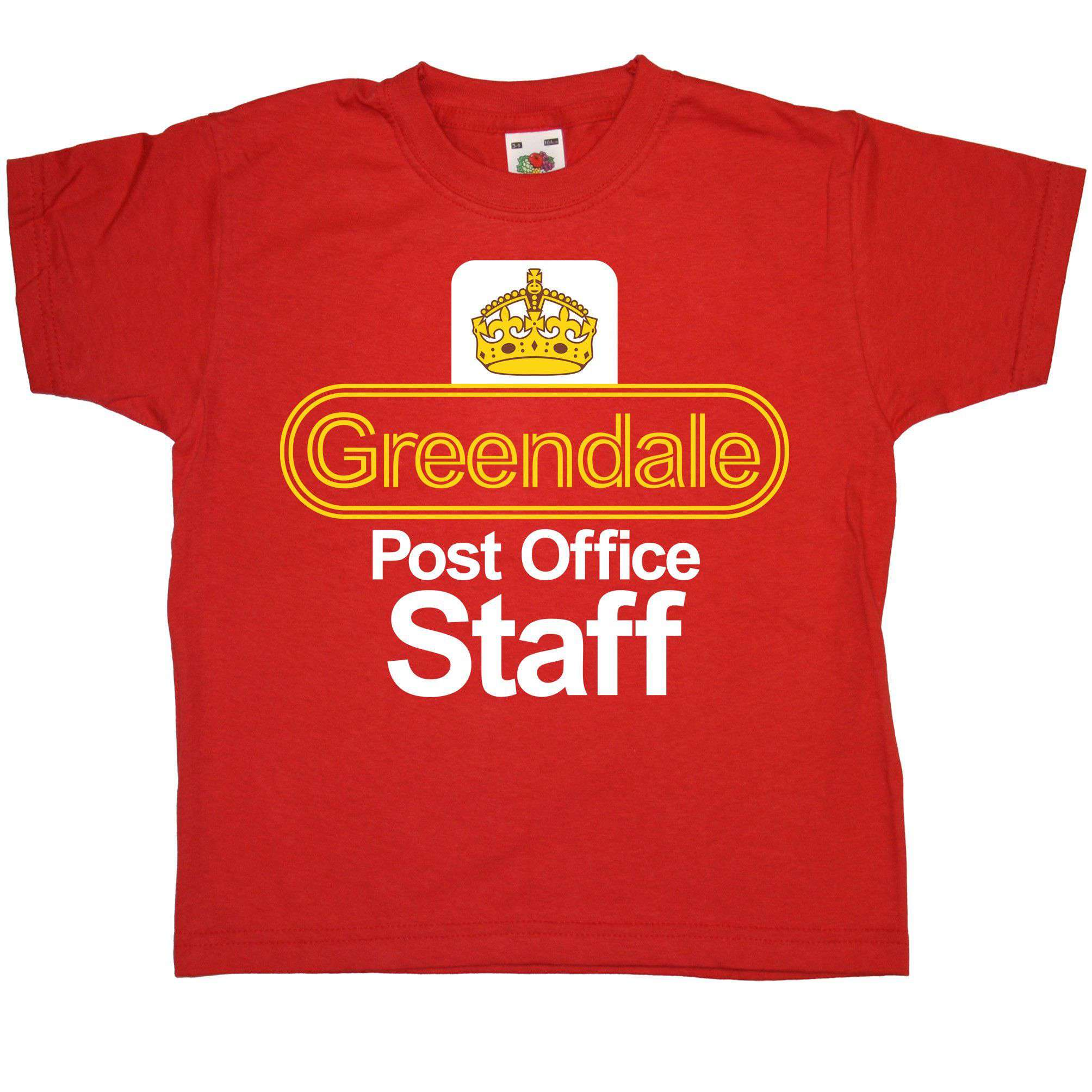 Inspired By Postman Pat T Shirt - Greendale