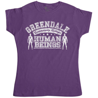 Inspired By Community Women's T Shirt - Greendale Human Beings