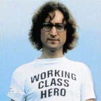 As Worn By John Lennon - Working Class Hero T Shirt